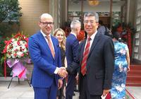 金吉列留学董事长受邀参加白罗斯共和国独立日庆祝活动