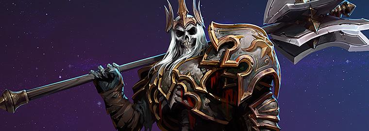 暗黑3玩家作品:超还原的骷髅王李奥瑞克COS