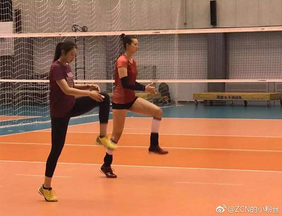 张常宁时隔9月重返国家队 训练吃小灶3教练陪打