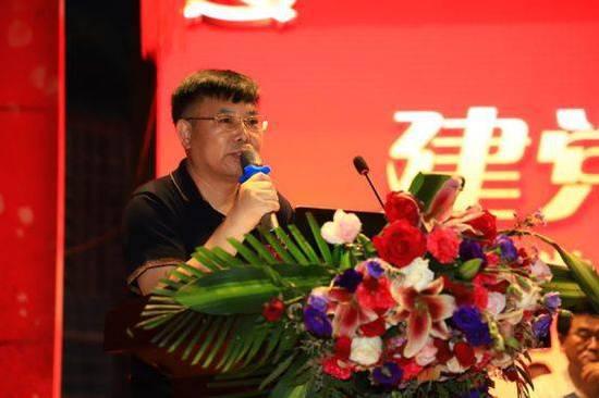 东城区工商联党组成员、副主席邵长城讲话