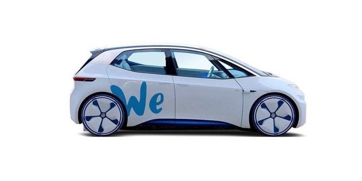 """大众推出""""WE""""共享出行平台 将包含电动滑板车"""