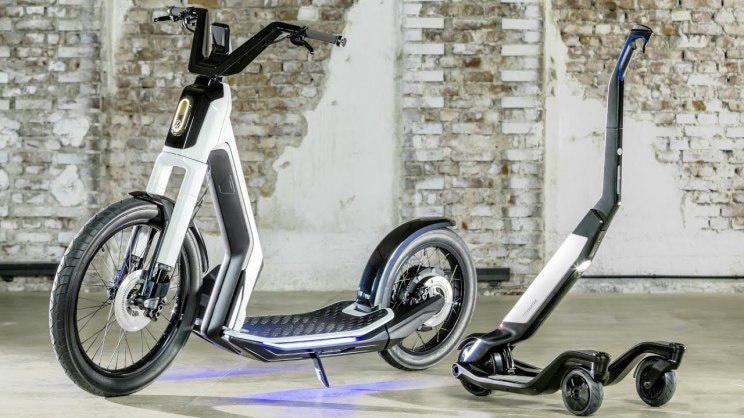 大众推出WE共享出行平台 将包含电动滑板车