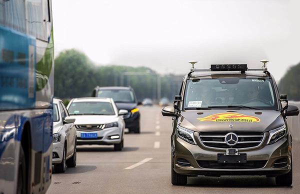 奔驰母公司获北京自动驾驶路测牌照