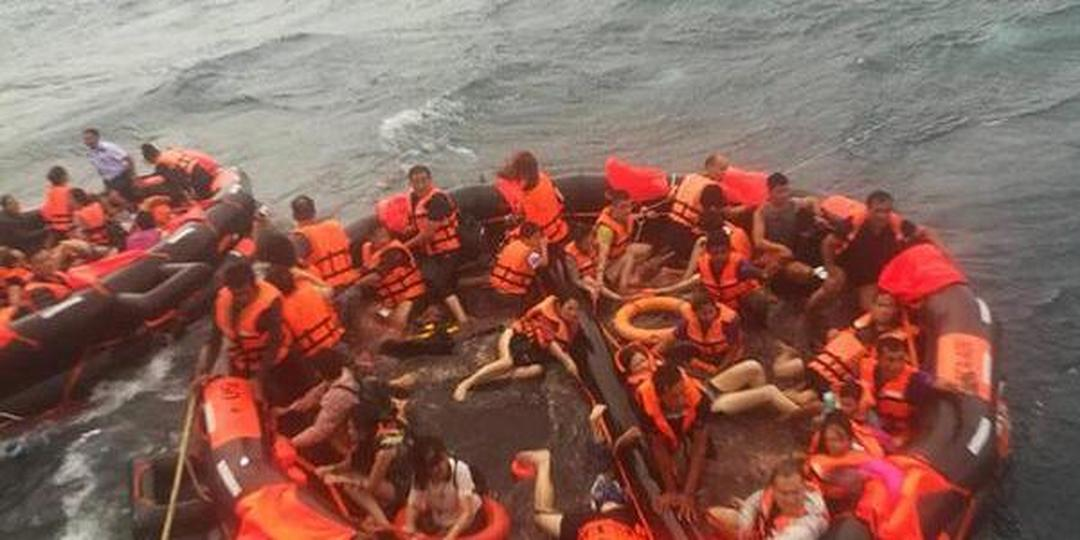 网上投注快三泰国直击普吉中国游客救援现场