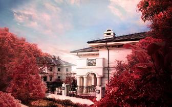 城央稀缺实景别墅---广源·栖山墅  震撼实景,全新面