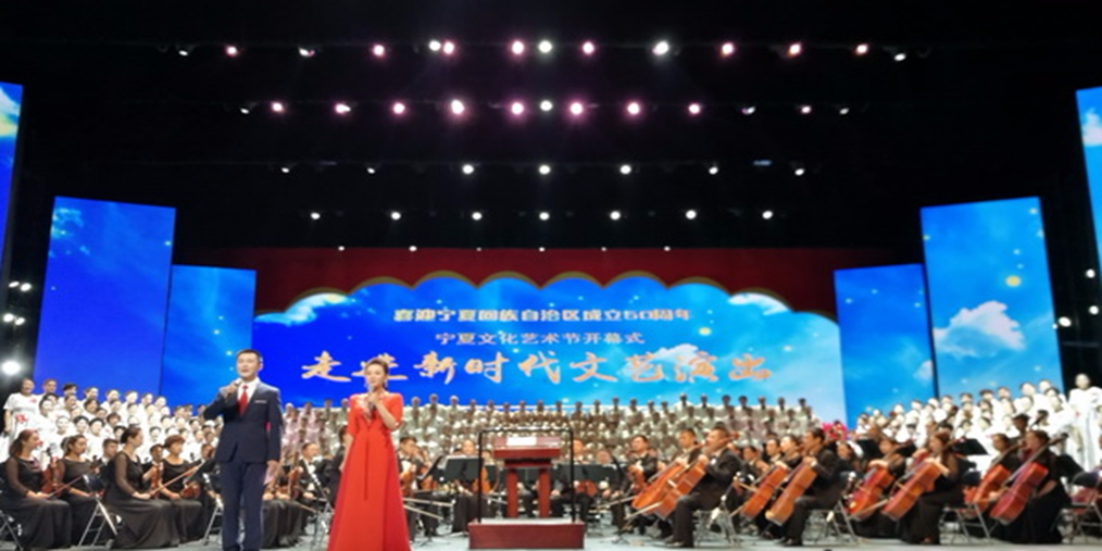 宁夏|宁夏文化艺术节开幕