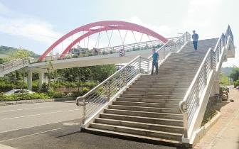 濠江区|濠江区投资近1.3亿元建设8座人行天桥