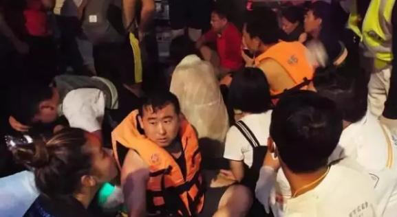 泰救援人员潜至42米海底 失联名单新增阿里两员工