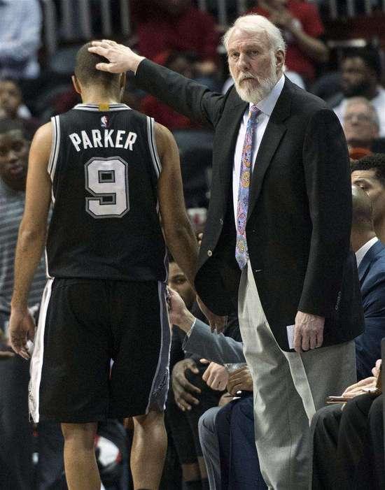 波帅:感谢帕克留下的回忆 最欣喜的是看着他成长