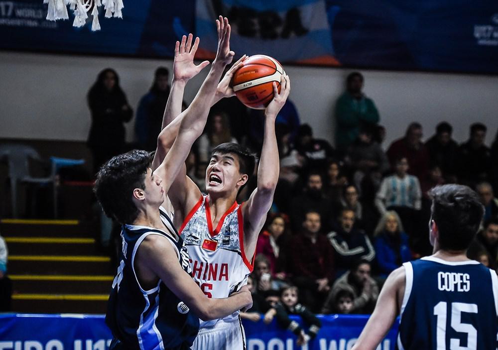 U17男篮世青赛-中国负阿根廷5连败 焦泊乔21+14
