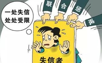 咸宁公布一批失信人名单 最高失信金额达1000万!