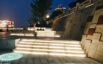 亲水平台拍下的韶城夜景,这个角度的韶关你见过吗