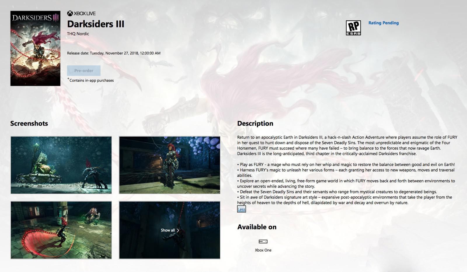 《暗黑血统3》发售日泄露,又是临时工的锅?