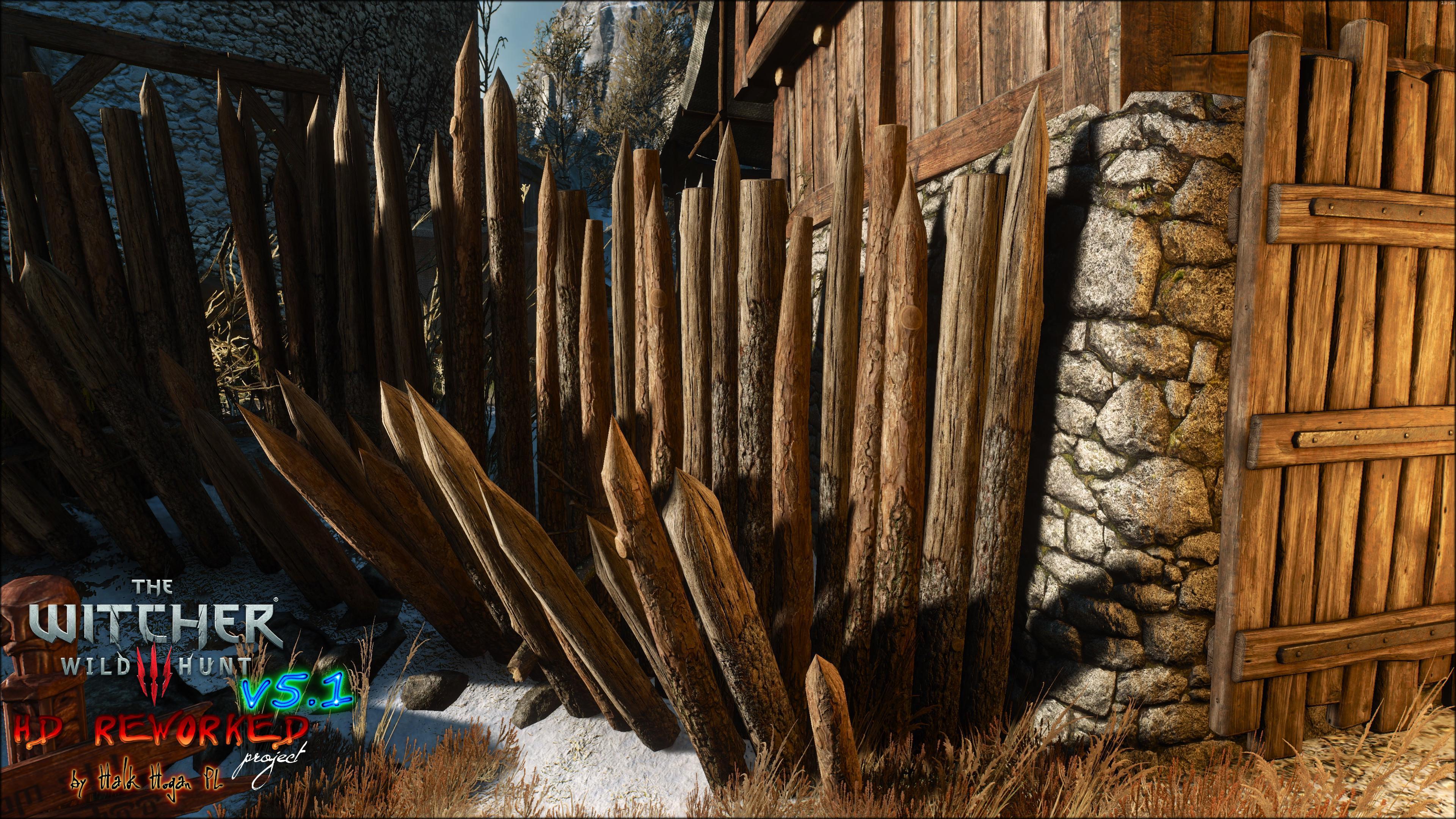 《巫师3》高清MOD截图公开 纹理更新游戏焕然一新