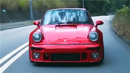 保时捷 911 Turbo漂移