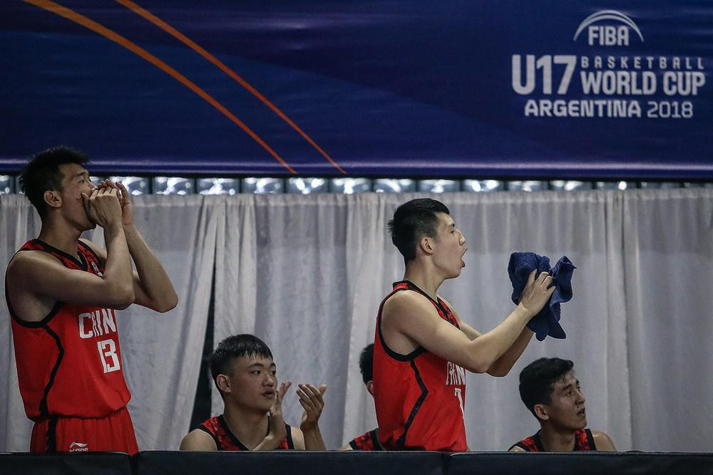 U17男篮世青赛-中国胜埃及止6连败 名列赛事第15