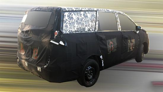 全新MPV/年底上市 大通G50将8月8日发布