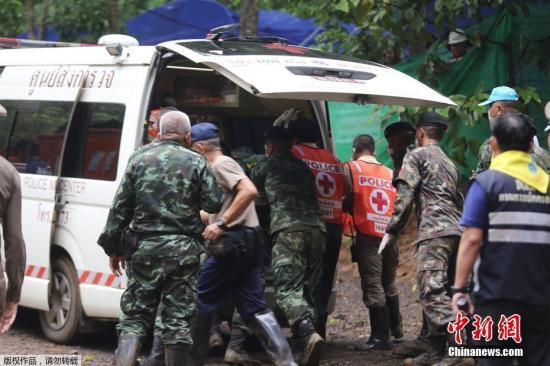 泰国岩洞第二轮救援即将展开 一获救少年状况好转