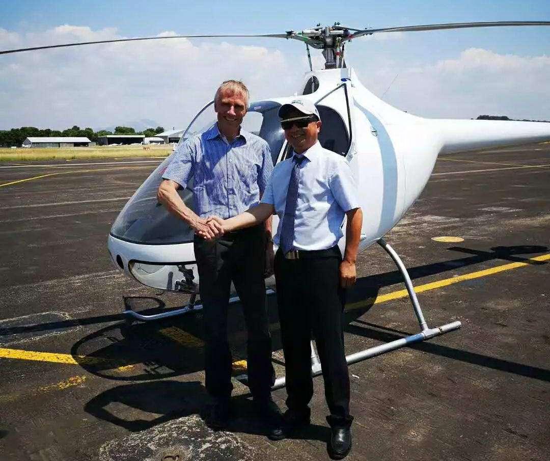 北京通航江西直升机公司代理法国Cabri G2直升机