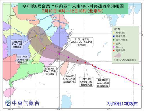 阵风17级!中央气象台发布今年首个台风红色预警