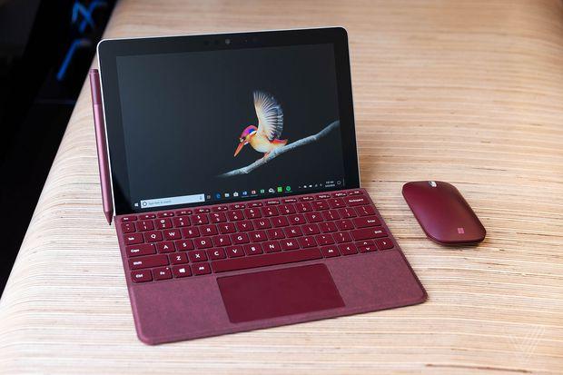 对标iPad!微软发布入门级平板SurfaceGo