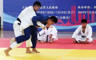以柔克刚 技巧对抗 省运会男子柔道比赛精彩