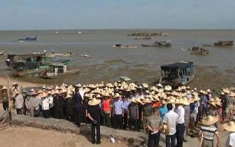 """海城区清理北岸""""海上违章建筑""""这些蚝场将被拆除"""