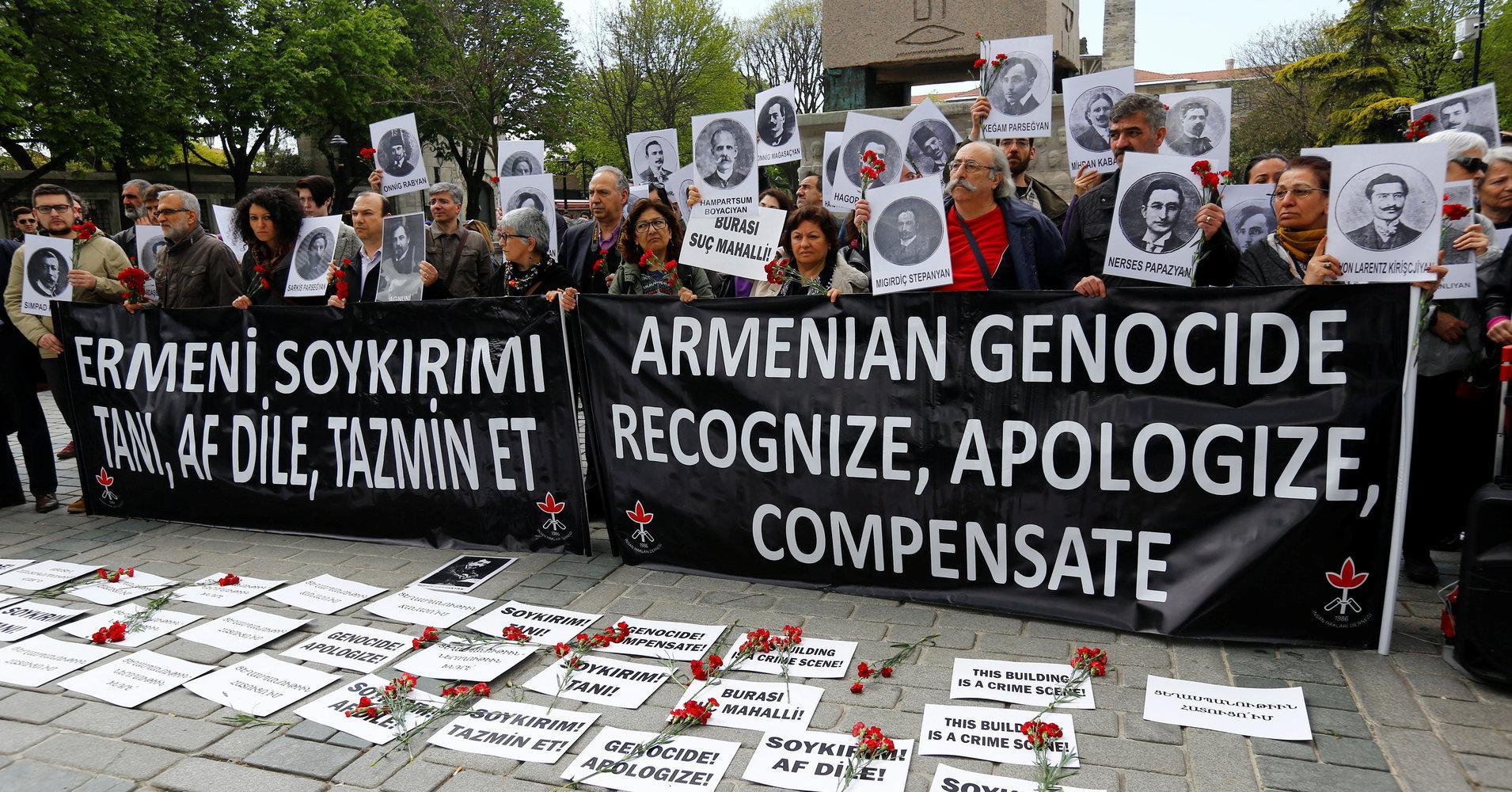 亚美尼亚人抗议