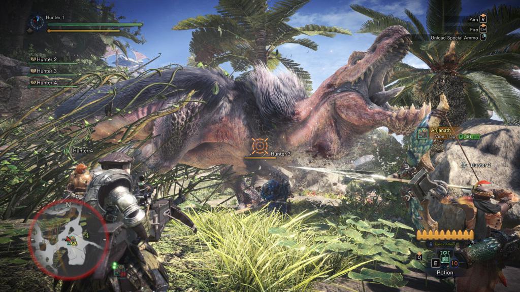 《怪物猎人:世界》PC版4K/60帧确认 画面选项曝光
