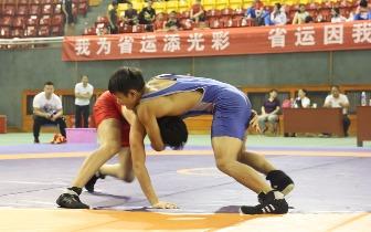 """省运会摔跤比赛又双叒叕来啦!石市成""""金牌"""