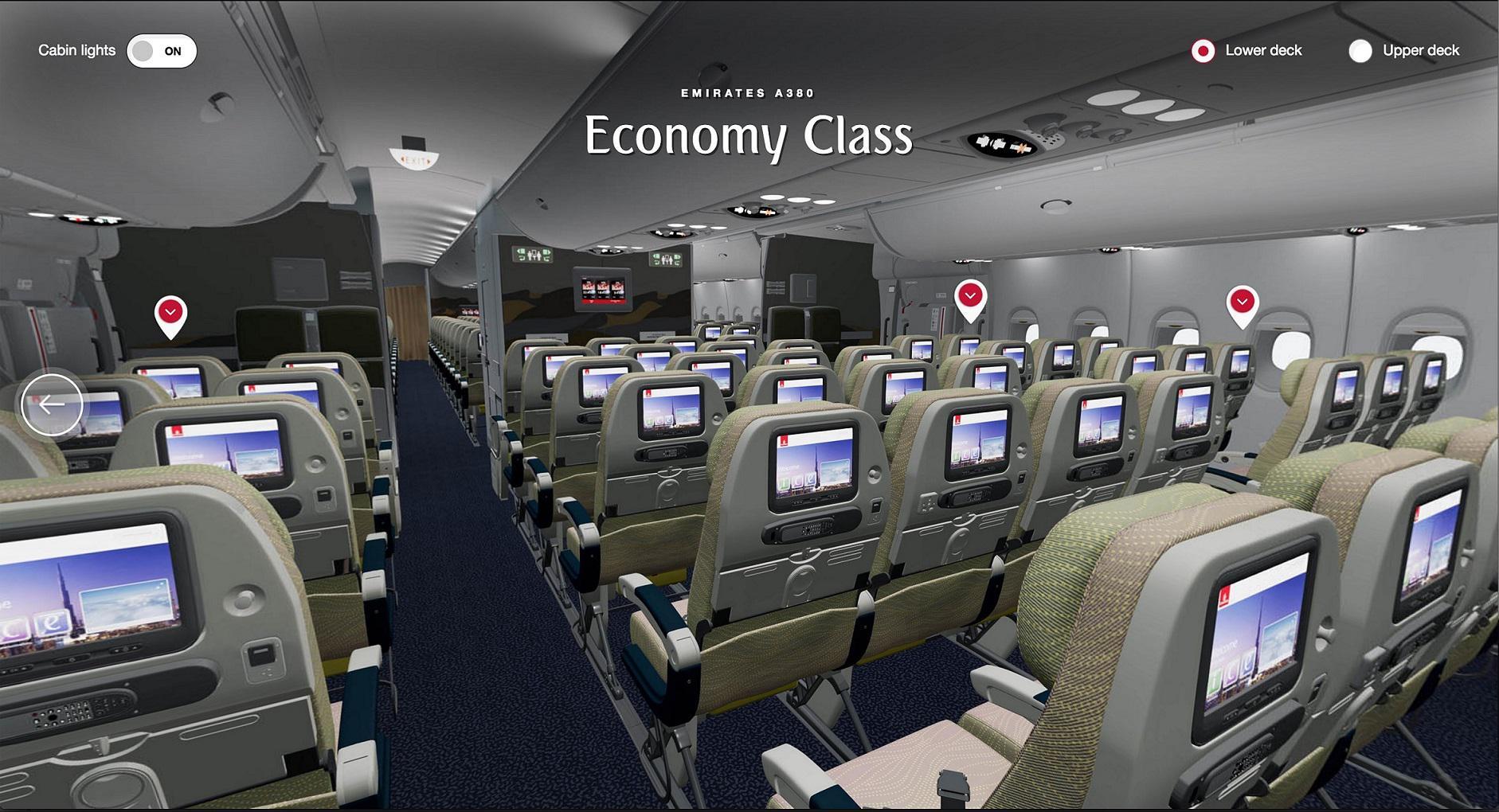 VR视角下的阿航客舱