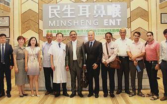 第六届中印联合医疗队在蓉开展耳鼻喉技术交流