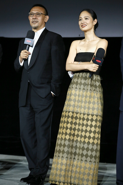 《邪不压正》首映 姜文:把女性拍成神是我的理想
