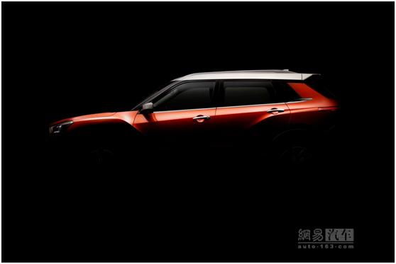 三条腰线 东风启辰全新小型SUV预告图