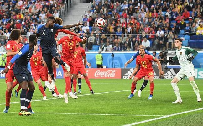 法国1-0淘汰比利时进决赛