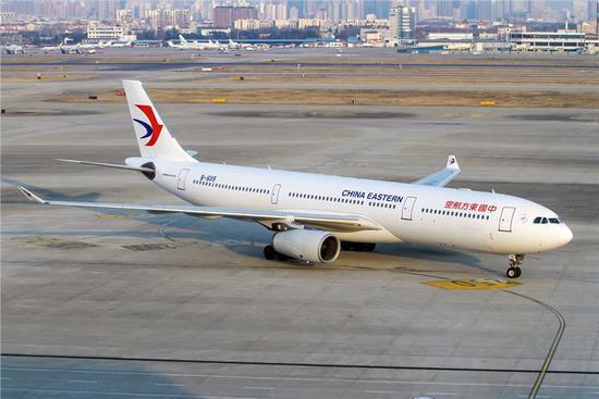 资料图:东航客机