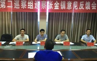 张志鹏赴张金镇参加市委第二巡察组巡察反馈意见会