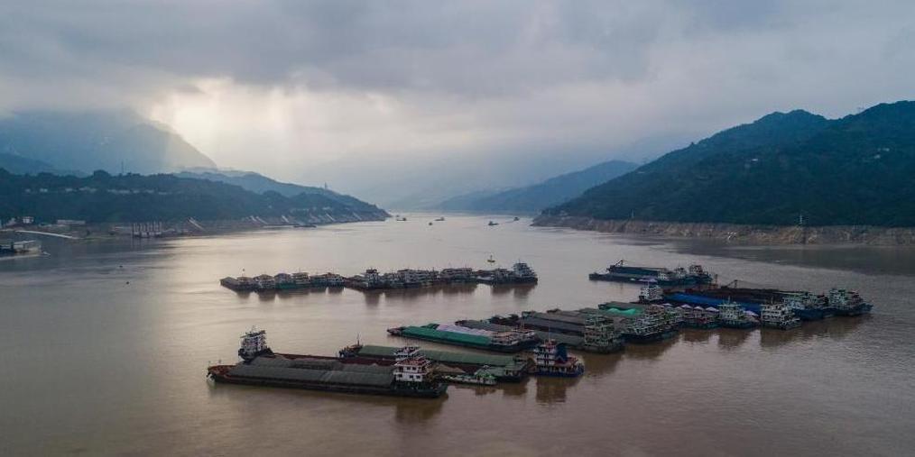 长江防总发调度令疏散因汛滞留船舶