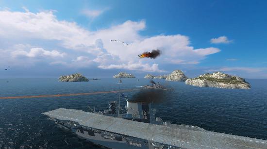 舰船各具特色 航母实施海空立体打击