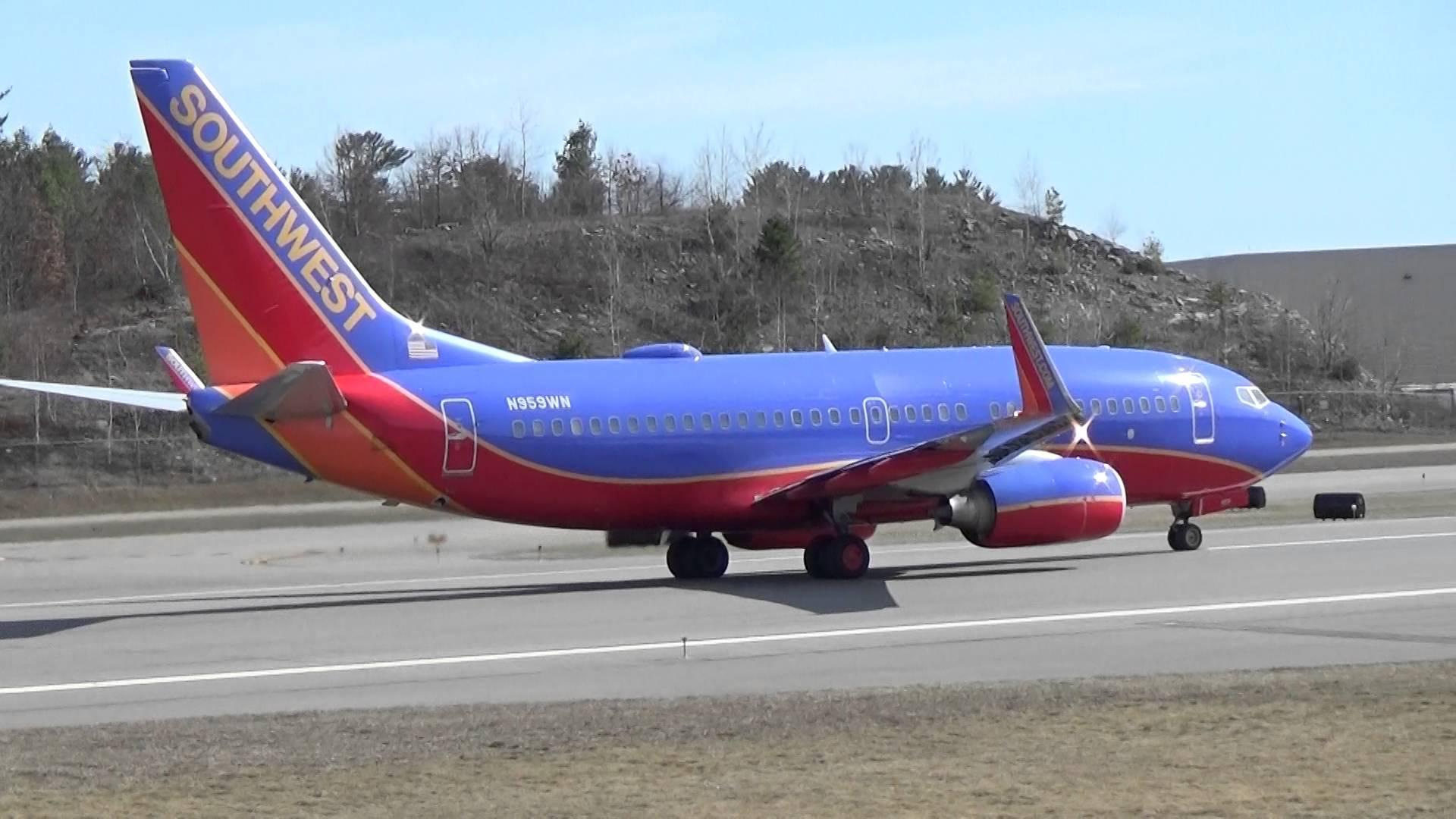 资料图:美国西南航空客机