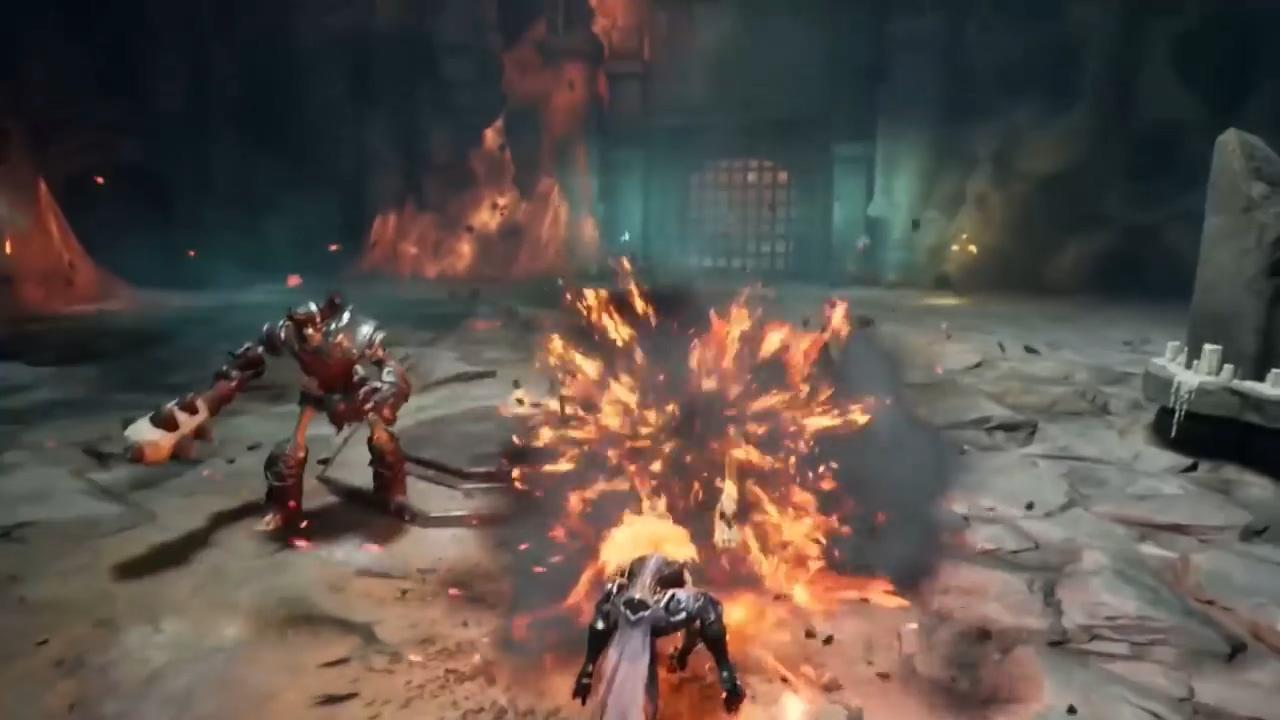 《暗黑血统3》武器预告新演示 怒神舞鞭宛如战神下凡