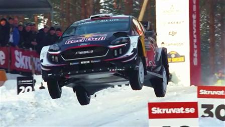 2018年WRC过弯集锦