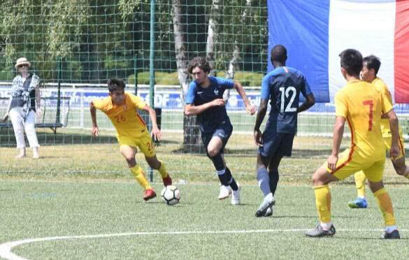 热身-中国U19国青3-5输法国U19 5天内遭对手双杀