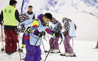 滑雪度暑假 石家庄市开启青少年冰雪体验活