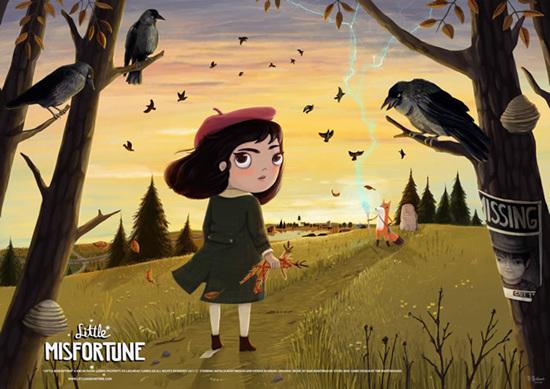 新游先知道:脑洞少女的神奇冒险《Little Misfortune》