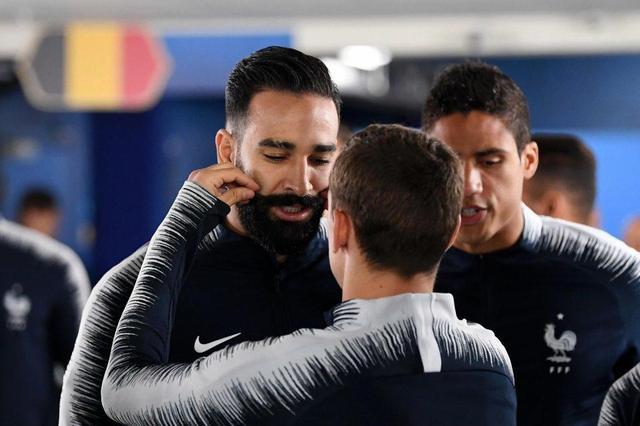 幸运符,法国球员赛前触摸拉米胡须