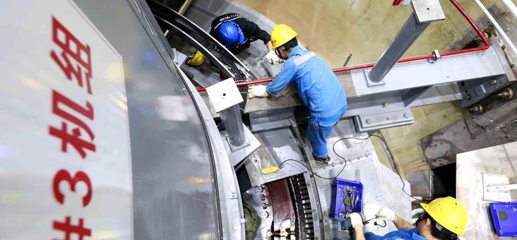 琼中抽水蓄能电站7月底将建成投产发电