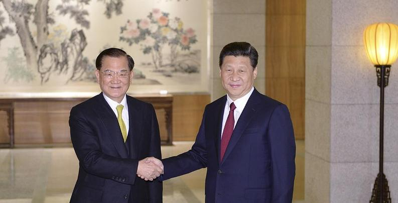 习近平会见中国国民党前主席连战