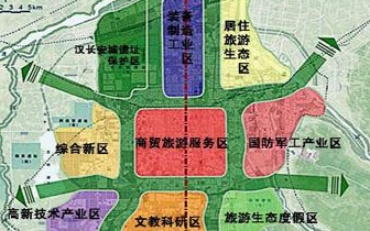 西安在预计未来三年要建28个区域商圈