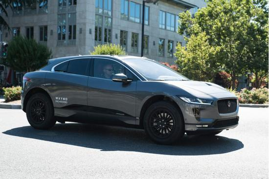 扩充车队数量 Waymo迎首批捷豹I-Pace电动SUV